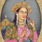 नूरजहाँ (मेहरुनिशा)  मुगल  बादशाह जहाँगीर की बेगम
